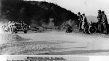 Caracciola at Raticosa pass in Mercedes SSKL