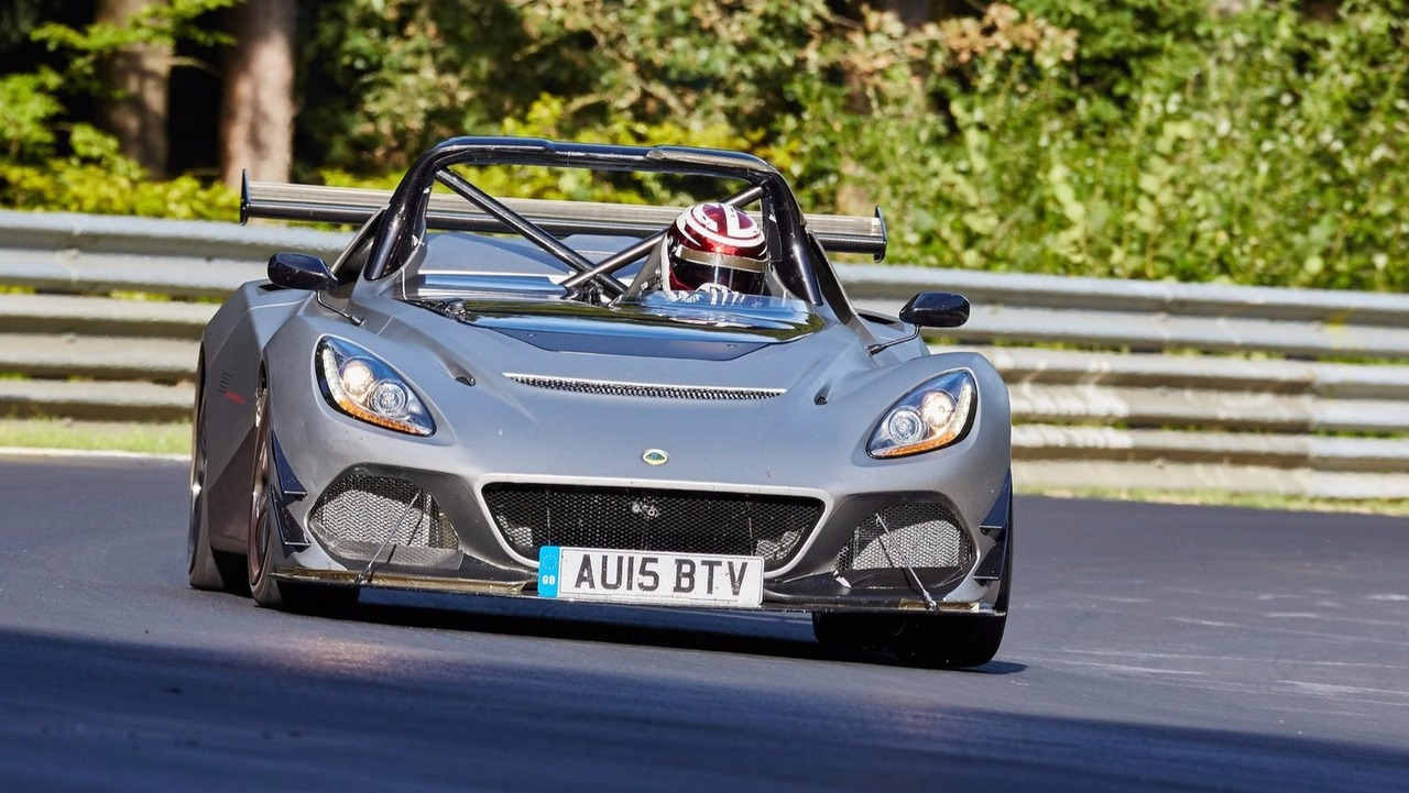 Lotus 3-Eleven on the Nürburgring