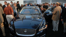 2010 Jaguar XJ North American debut at Pebble Beach 2009