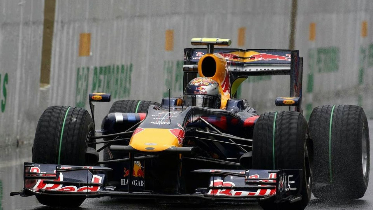 Sebastian Vettel (GER), Red Bull Racing, Brazilian Grand Prix, Saturday Practice, Sao Paulo, Brazil, 17.10.2009
