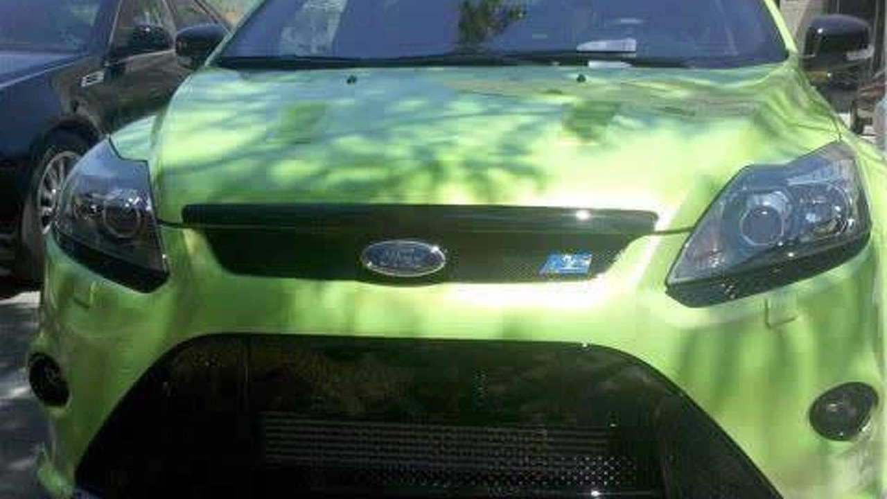 Ford Focus RS spotted near Detroit - click for more photos