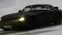 Mercedes SLC Gullwing Caught as it Begins Winter Testing