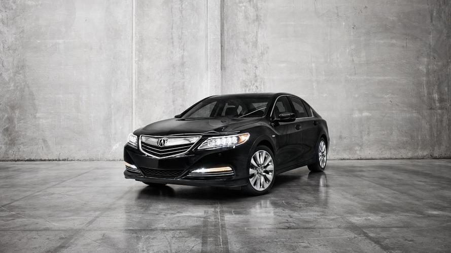 Acura RLX Sport Hybrid SH-AWD announced for the L.A. Auto Show