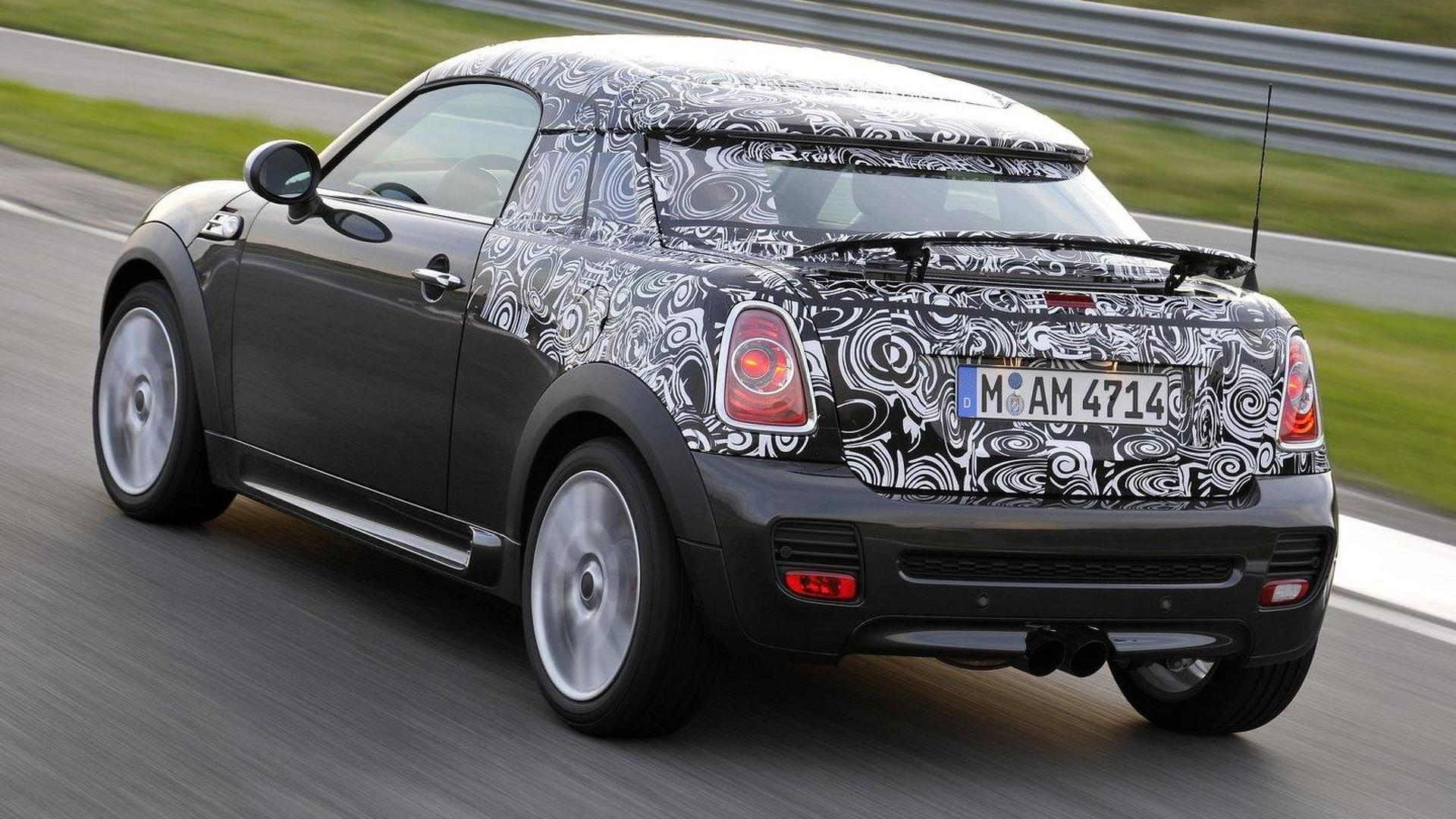 MINI Coupe tentatively revealed - official details released