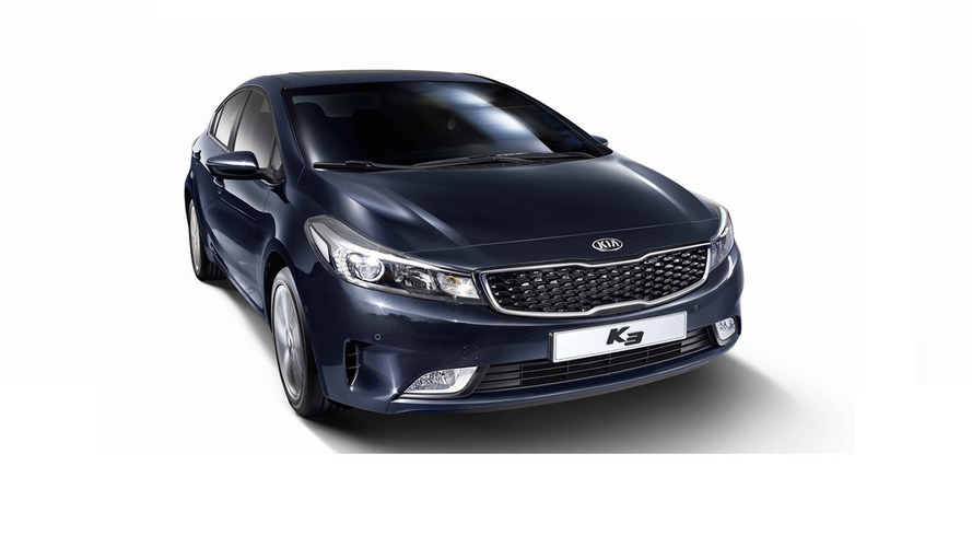 Kia Forte Sedan / K3 / Cerato facelift officially revealed in South Korea