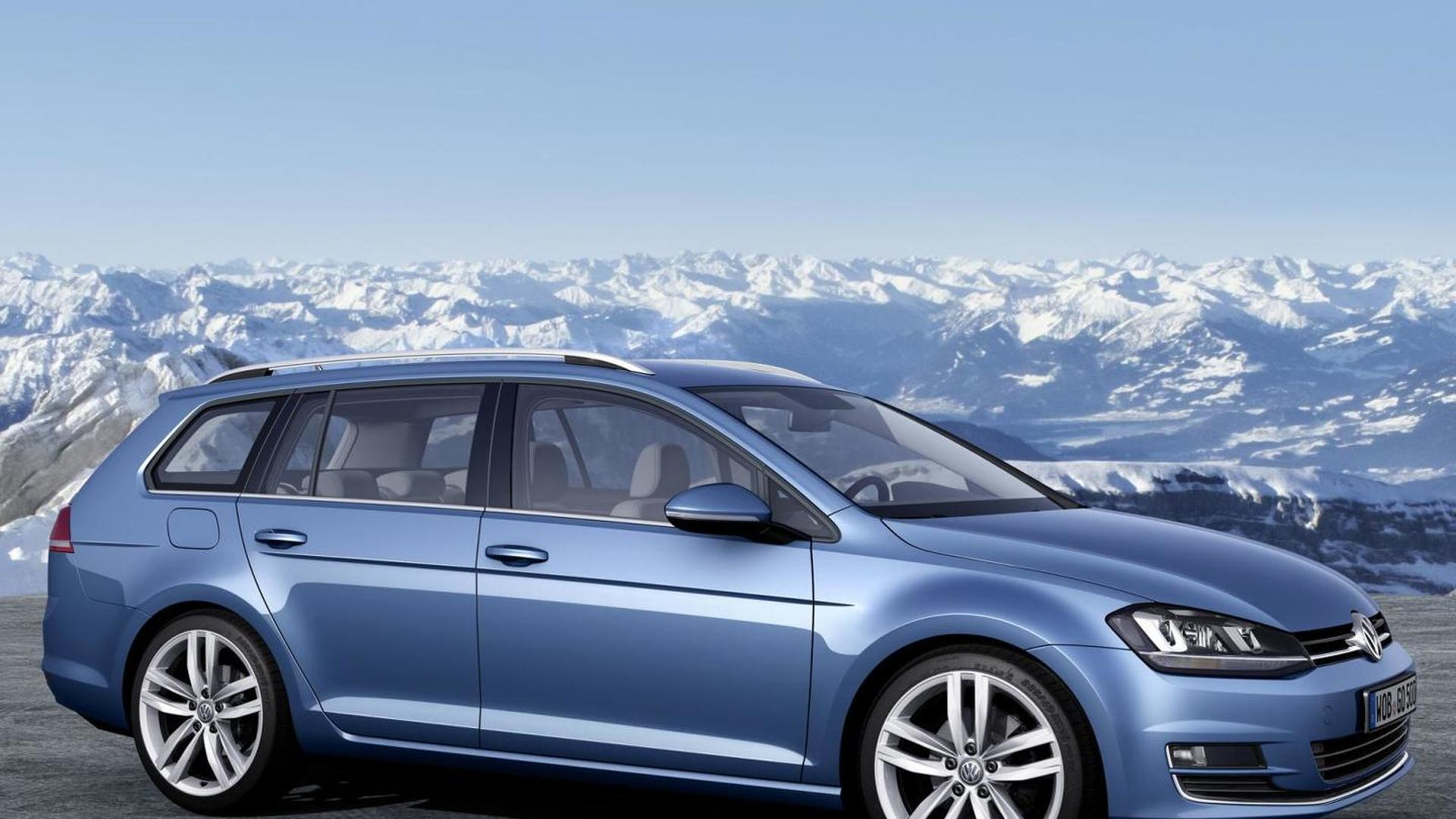 Volkswagen Golf Variant 4Motion introduced