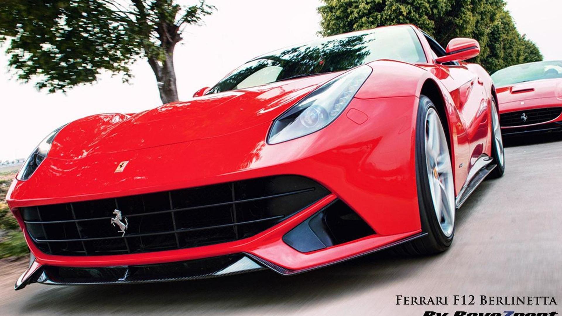 Revozport updates the Ferrari F12 Berlinetta