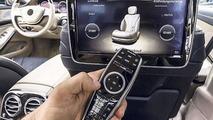 2014 Mercedes-Benz S-Class official interior photo leak