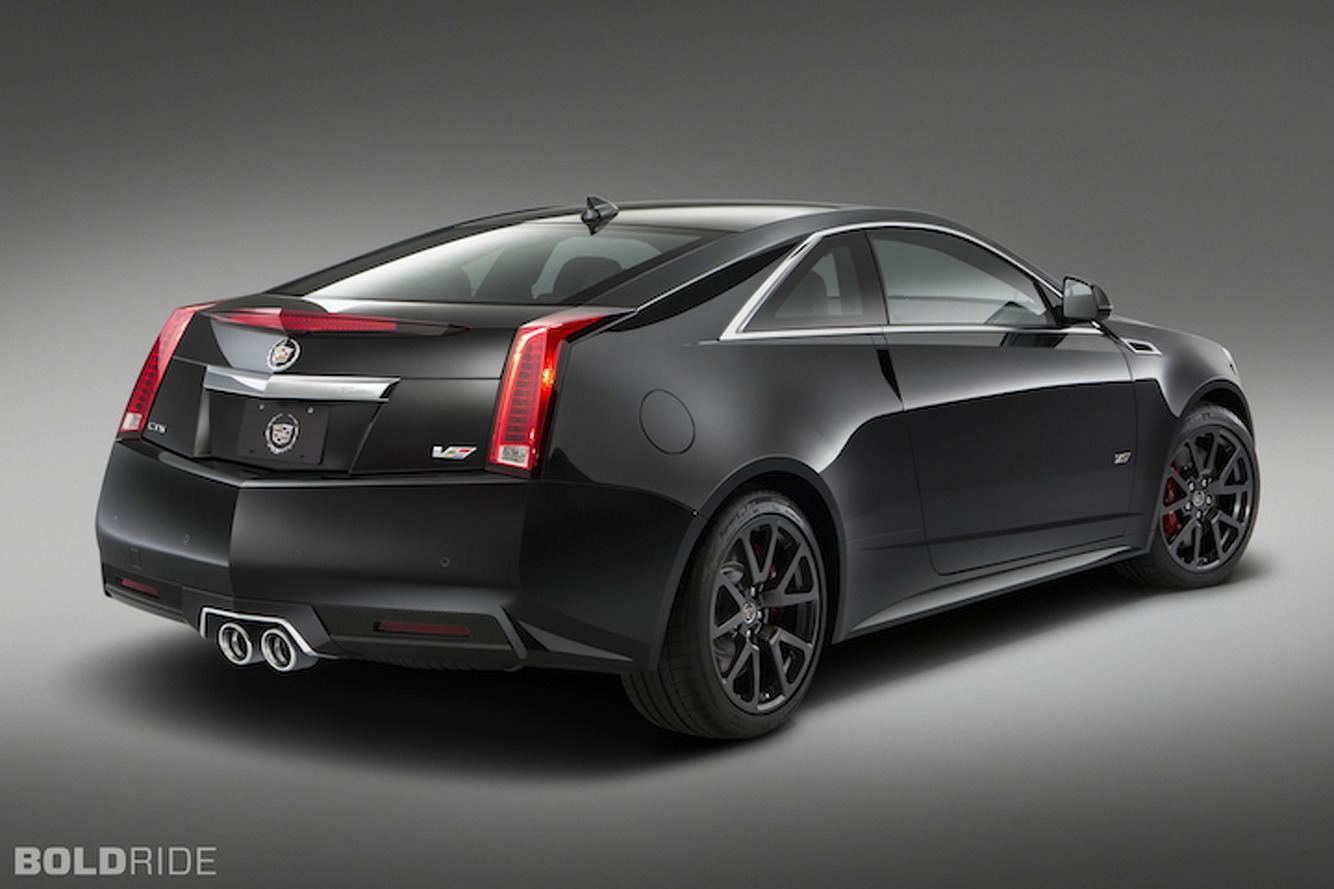 Cadillac Says So Long to Old CTS-V Coupe, Preps for Next-Gen