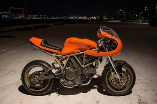 Mod Moto's Ducati 750SS is an Orange Wonder