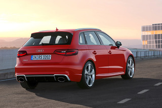 Audi Excites with 367HP RS 3 Sportback