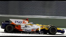 Alonso vence o 1º GP noturno da história em Cingapura - Ferrari atrapalha Massa