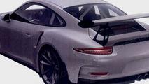 Porsche 911 GT3 RS patent photo
