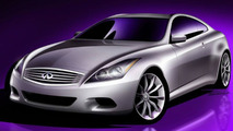 2008 Infiniti G Coupe Sketch