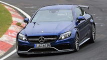 Mercedes-AMG C63 R Coupe Spy Photos