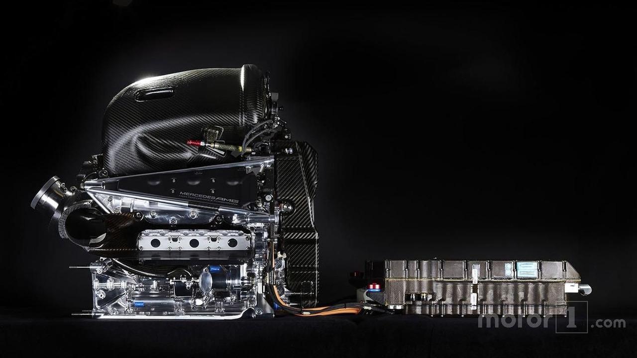 Mercedes AMG F1 W07 Hybrid Power Unit Mercedes-Benz PU106B