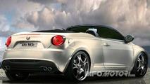 Rendered Speculation: New Alfa Romeo Mi.To Cabrio