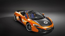 McLaren shows off 650S Can-Am Spider in Papaya Spark and Onyx Black