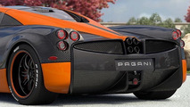Future owner previews one-off Pagani Huayra Hermes Edition on Instagram