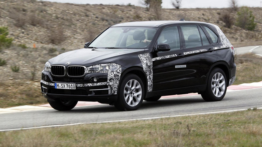 BMW X5 plug-in hybrid prototype revealed, will go into production soon