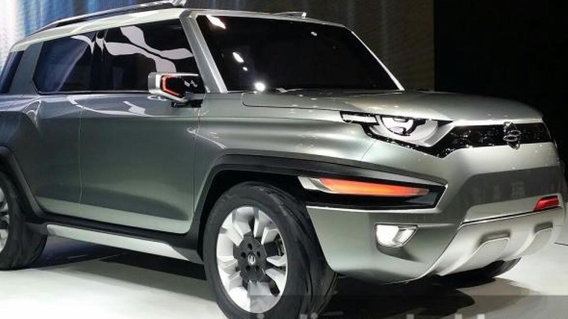 Sssangyong XAV concept revealed in Seoul with e-4WD system