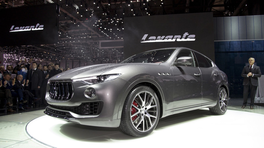 Maserati Levante arrives in Geneva with up to 430 hp