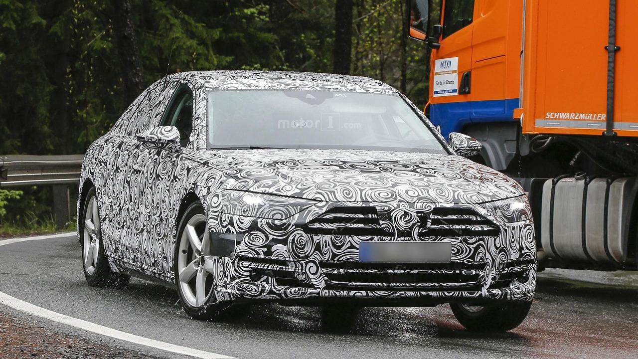 Fourtitude.com - Spy Photos: Fourth Generation, 2018 Audi A8 (D5)