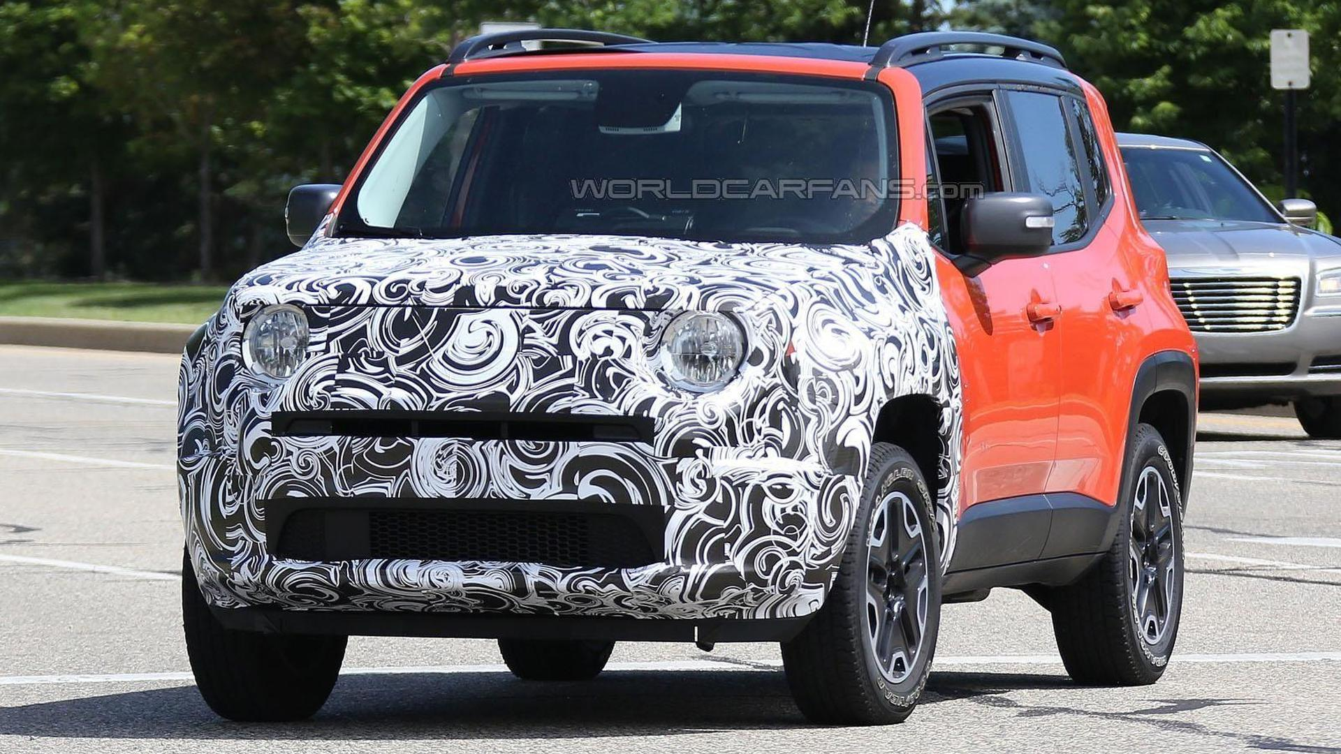 Mysterious Jeep Renegade prototype spied in Michigan