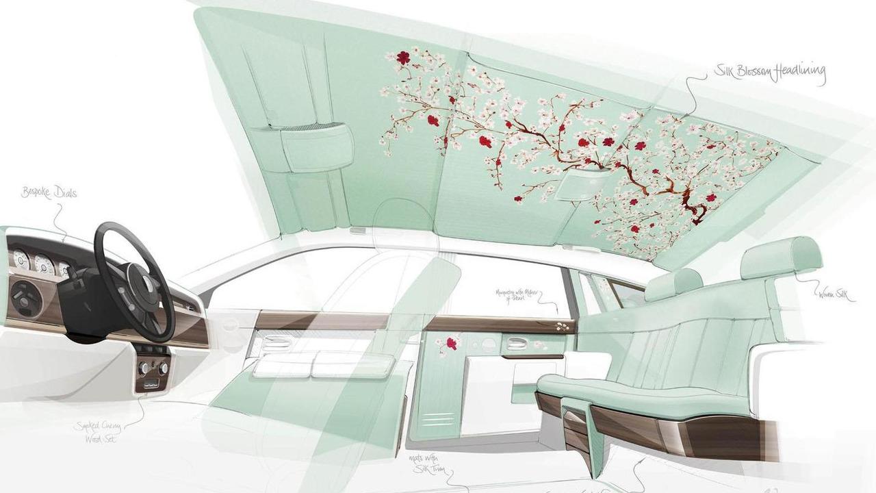 Rolls-Royce Phantom Serenity teased for Geneva