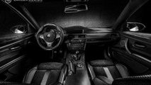 BMW M3 Coupe gets an all-black interior from Carlex Design