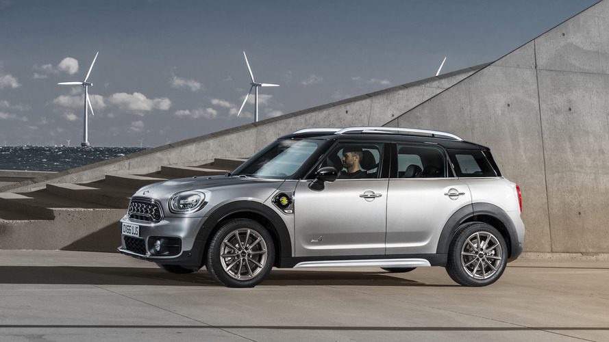 Mini adds plug-in power to new Countryman lineup