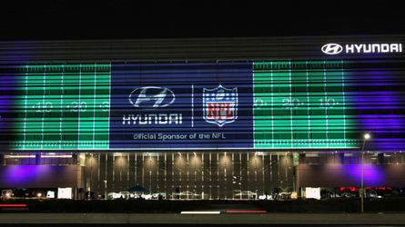Hyundai will film its 90-second Super Bowl commercial during the game