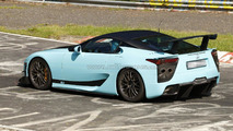 Hotter Lexus LFA Nürburgring Edition prototype spy photo 26.05.2012
