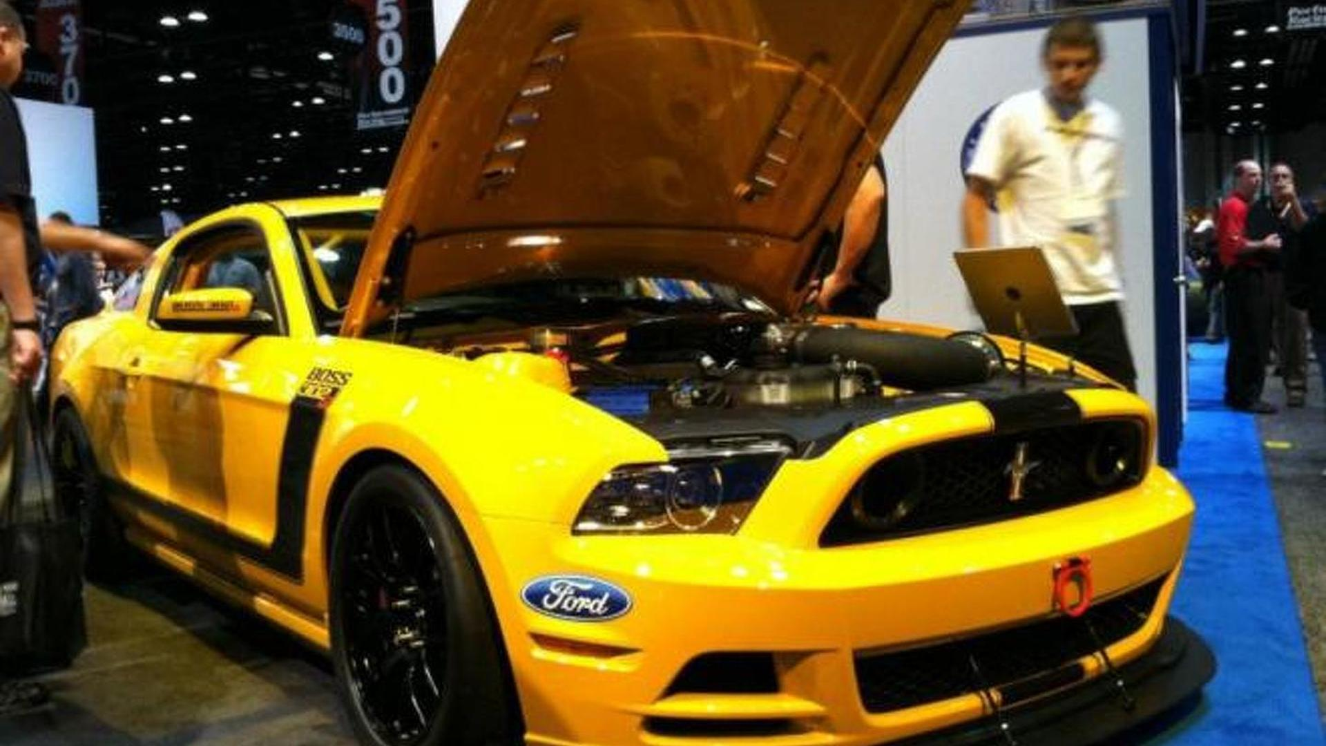 Ford Mustang Boss 302SX concept unveiled