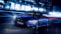 2013 Mercedes SL63 AMG (R231) artists rendering