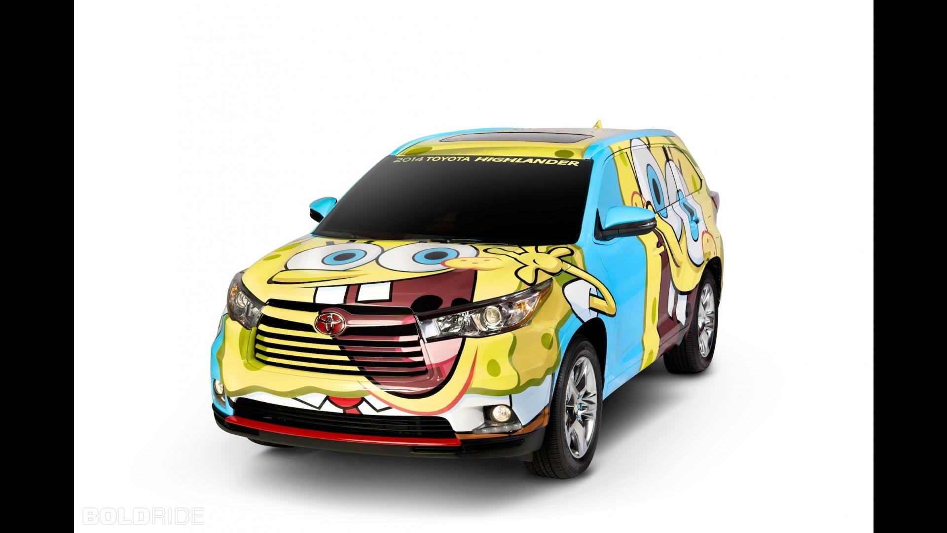 Toyota Highlander Spongebob Concept