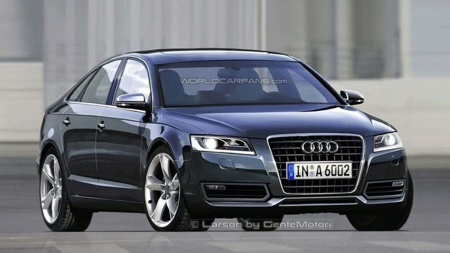 2010 Audi A6 First to Receive New Aluminum Steel Space Frame