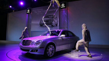 Mercedes E-Class High Voltage Debut in NYC