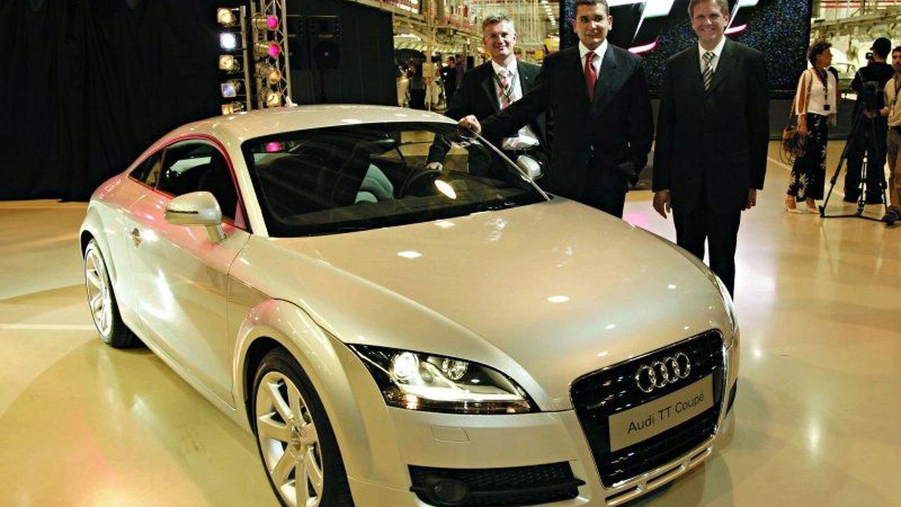 Production Start New Audi TT Coupe