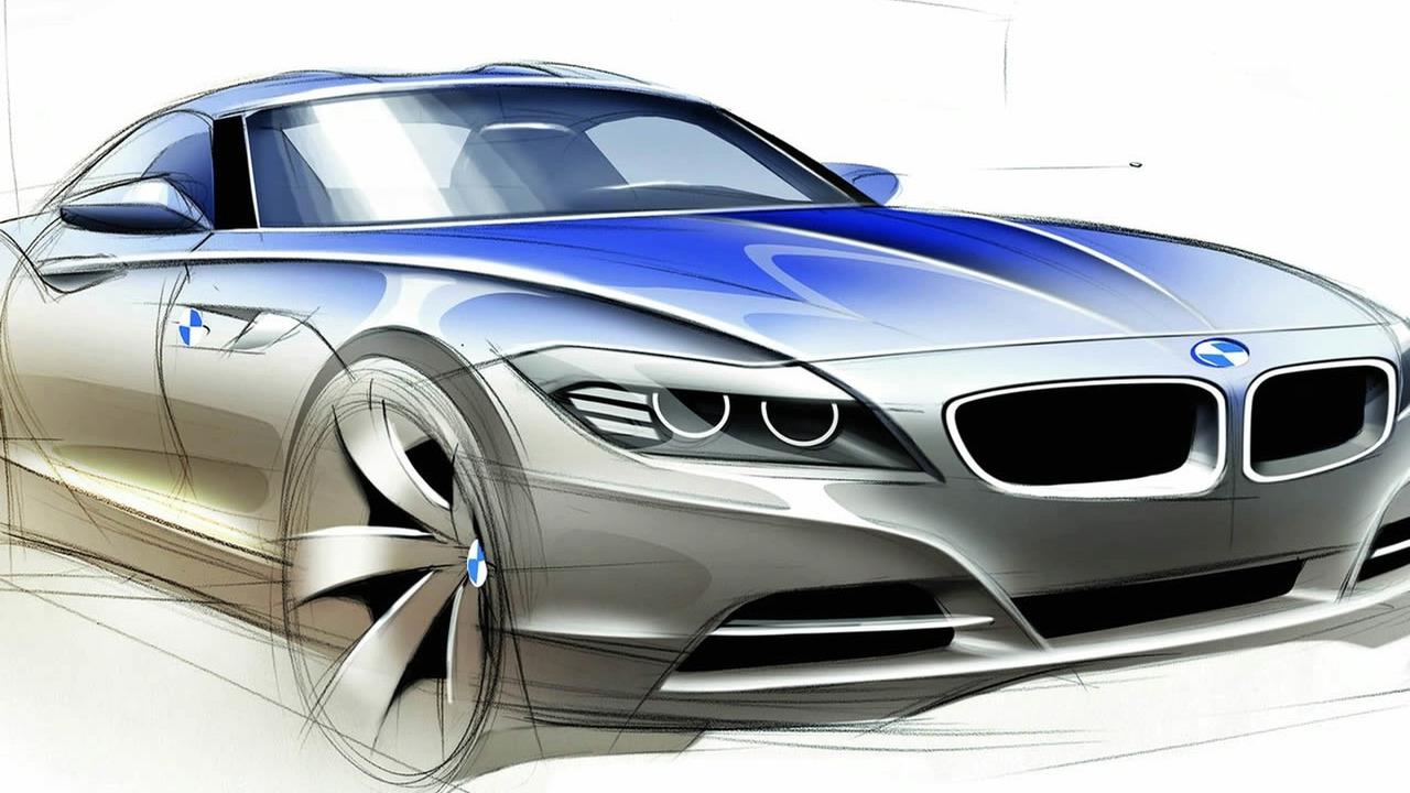 all-new 2010 BMW Z4 Sketch