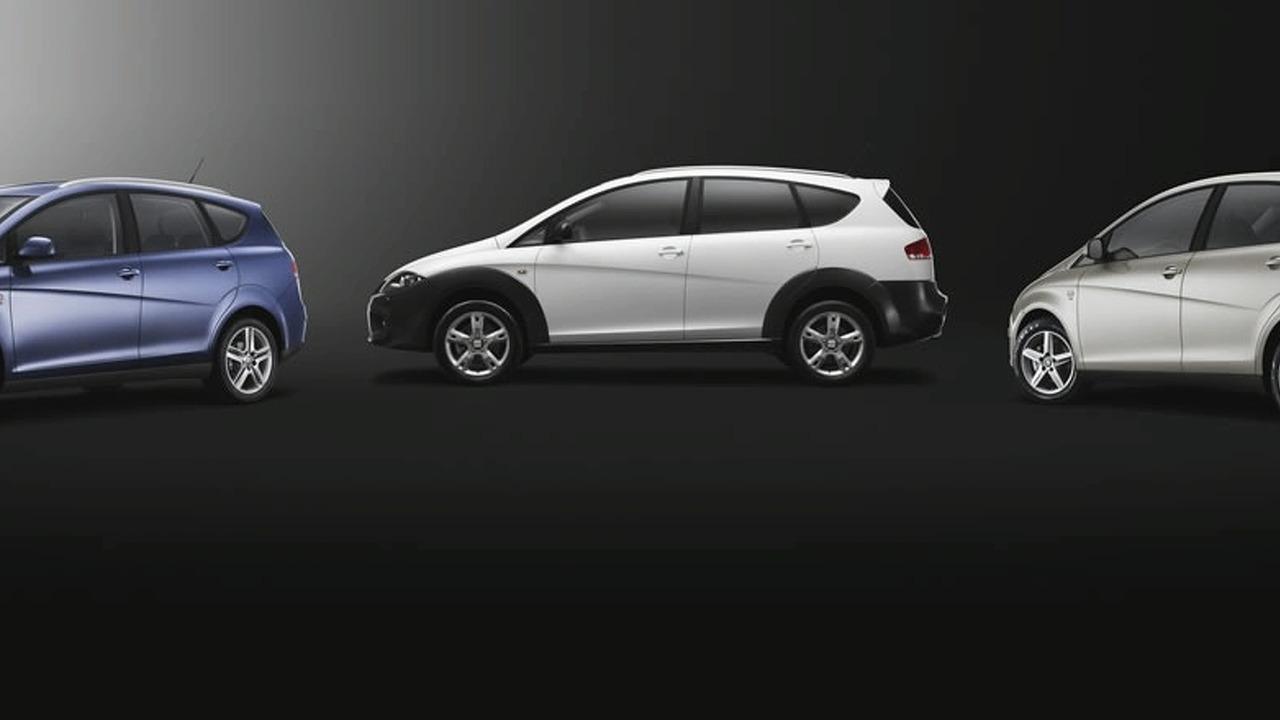 SEAT Altea range 2009