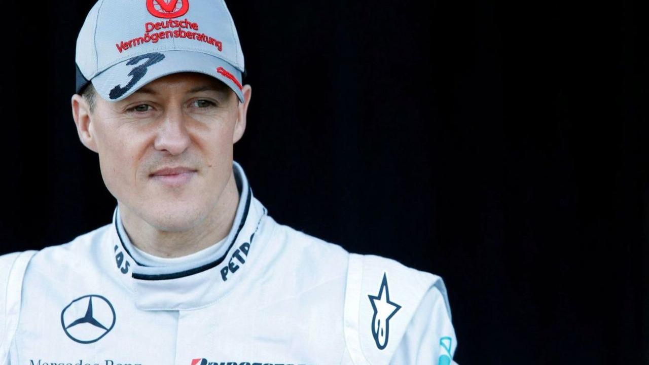 Michael Schumacher (GER), Mercedes GP, Formula 1 Testing, 01.02.2010 Valencia, Spa