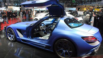 Mercedes SLS AMG by FAB Design live in Geneva, 670, 02.03.2011