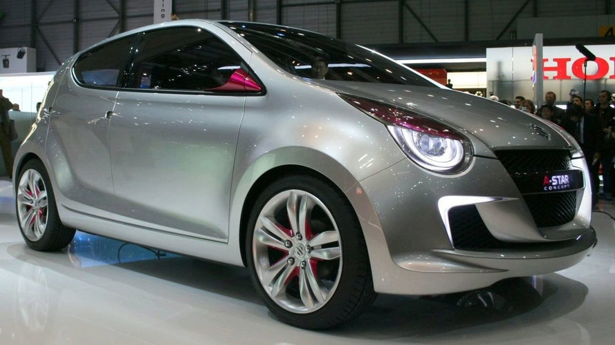 Suzuki A-Star Concept makes European Debut