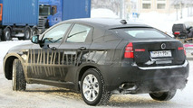 BMW X6 ActiveHybrid Spy Photo