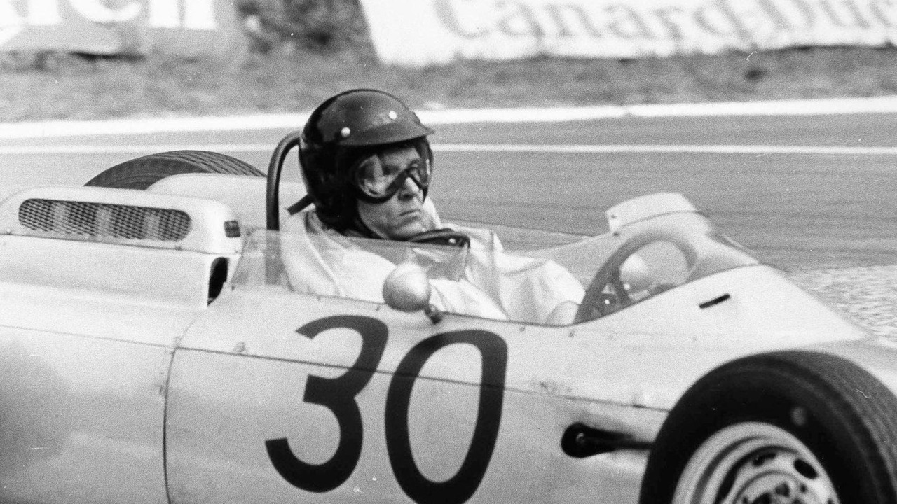 Dan Gurney driving the Porsche 804 f1 car at Rouen in 1962, 24.06.2010