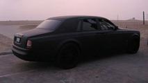 Matte Black Rolls-Royce Phantom Menace