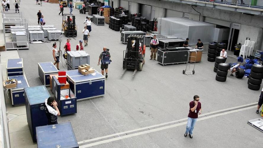 F1 factories begin to re-open after shutdown