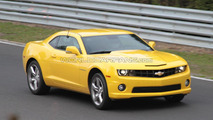 2011 Chevrolet Camaro spy photo at Nürburgring 11.10.2010