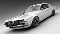 1968 Mercury Cougar 3D Rendering by Vizualtech